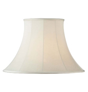 Endon Cream Bell Lamp Shade CARRIE 12""