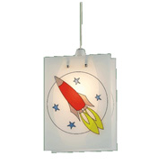Rocket Non Electric Pendant